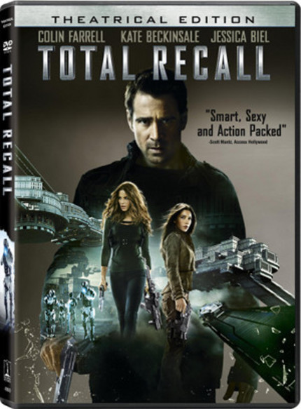 Win Len Wiseman's TOTAL RECALL On Blu-ray!