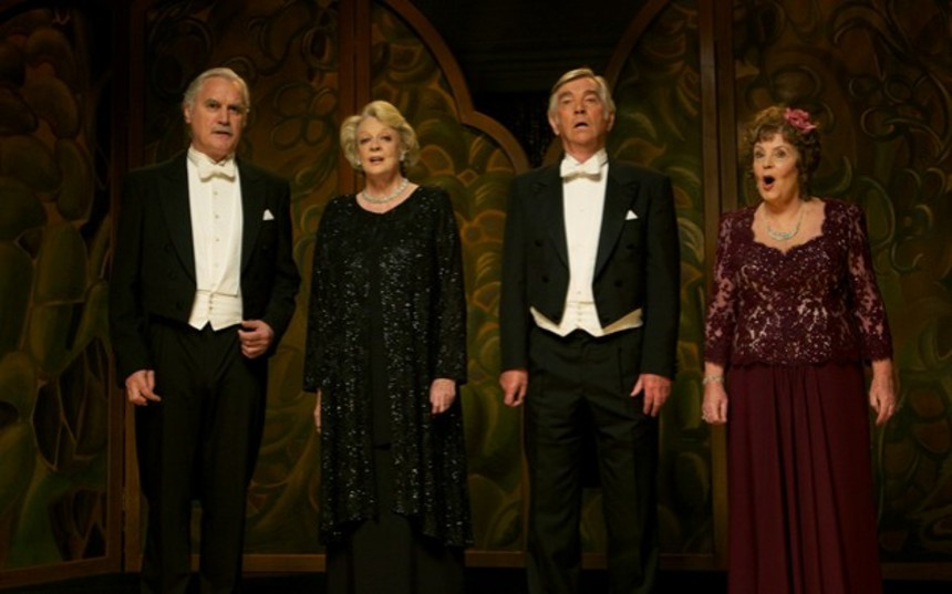 Review: QUARTET, Dustin Hoffman's Affectionate Tribute To Great Artists Of The Stage, Screen, And Concert Hall