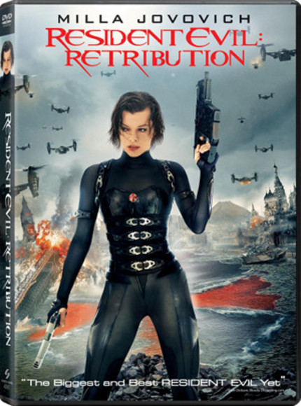 Win RESIDENT EVIL: RETRIBUTION On Blu-ray!