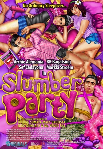 CinemaOne Review: Emmanuel dela Cruz's SLUMBER PARTY is Pleasurable Yet Disconcerting