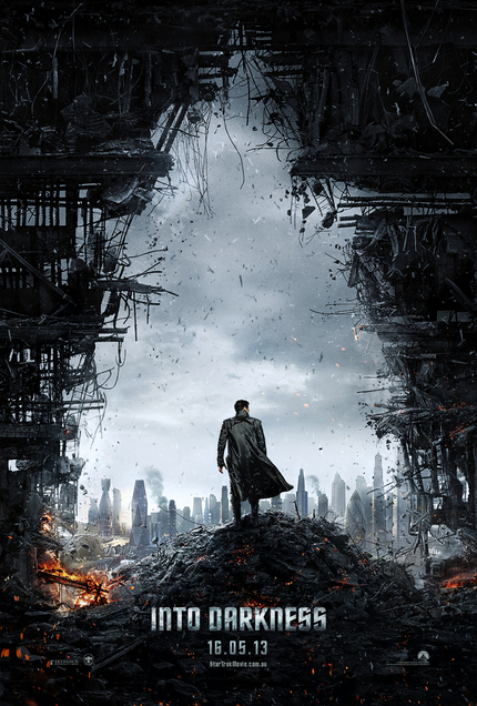 STAR TREK Rises With IN DARKNESS Poster