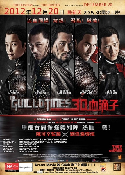 Hey, Australia! Win Tickets To See THE GUILLOTINES In The Cinema