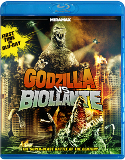 Blu-ray Review: A Tiny Kaiju Fan Takes On GODZILLA VS. BIOLLANTE!