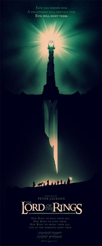 Mondo Unveils Limited Edition Olly Moss LORD OF THE RINGS Poster