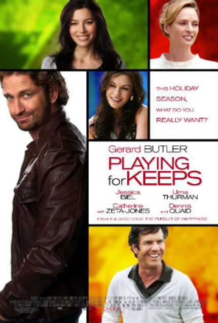 Review: PLAYING FOR KEEPS Continues Gerard Butler's Losing Streak