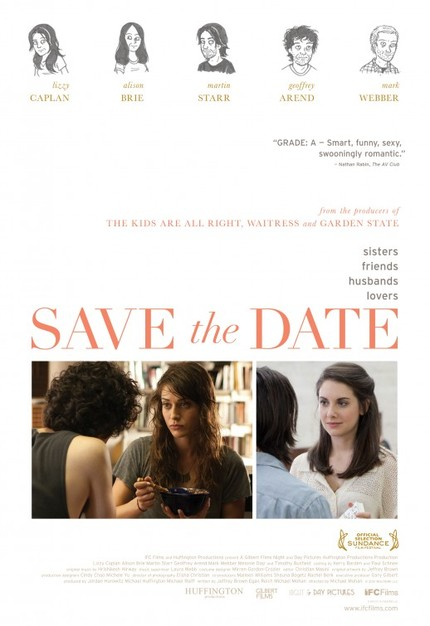 Review: SAVE THE DATE, A Delightful Movie About a Female Slacker and Her Mushy Men