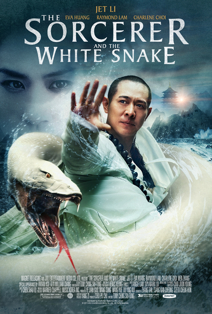 US Poster Debut For Jet Li's THE SORCERER AND THE WHITE SNAKE