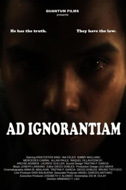 Review: Armando Lao's AD IGNORANTIAM is Too Much a Chore to be Pertinent
