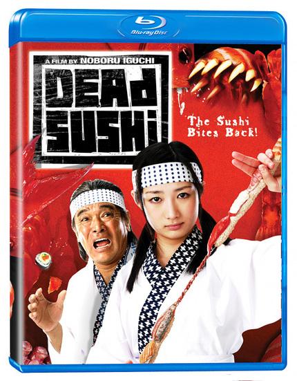 Win DEAD SUSHI On Blu-ray!