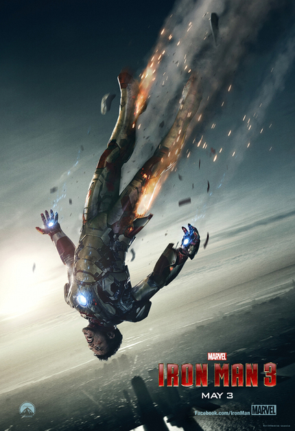 New IRON MAN 3 Poster And Super Brief Tease