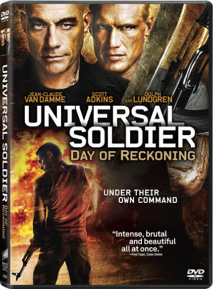 Win UNIVERSAL SOLDIER: DAY OF RECKONING On DVD!