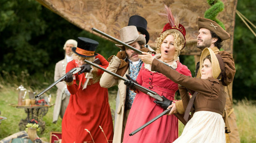 Review: AUSTENLAND, A Clumsy, Unfunny, And Insufferable Comedy