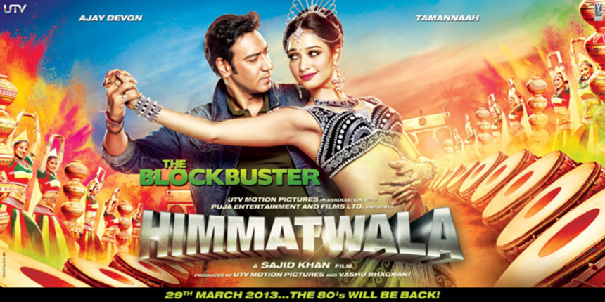 Ajay Devgan Rides The Nostalgia Gravy Train In Sajid Khan's HIMMATWALA