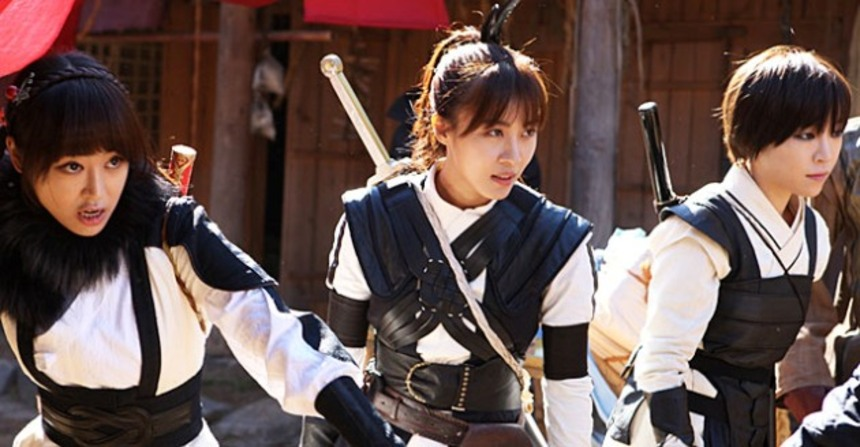 First Look At The Korean Action Heroines In THE HUNTRESSES