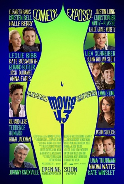 "Review: MOVIE 43 Asks the God of Comedy, ""Why Hast Thou Forsaken Me?"""