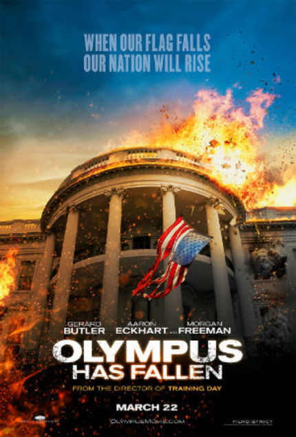 Handsome Bodyguard Protects Handsomer President. OLYMPUS HAS FALLEN Trailer