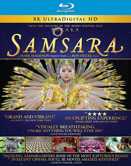 Contest: Win One Of Five Copies Of SAMSARA On Blu-ray