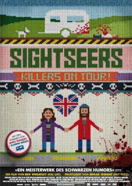 SIGHTSEERS Gets Brilliant Homespun Poster For German Release