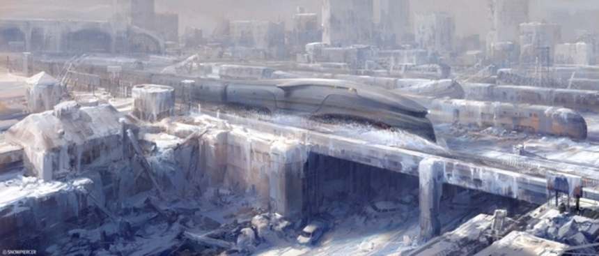 Concept Art For Bong Joon-ho's SNOWPIERCER Reveals Icy Wasteland