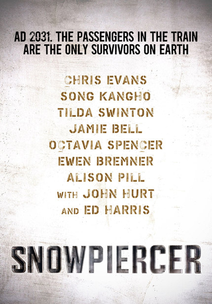 Listen To A Track From Bong Joon-ho's SNOWPIERCER Soundtrack, Plus Concept Art