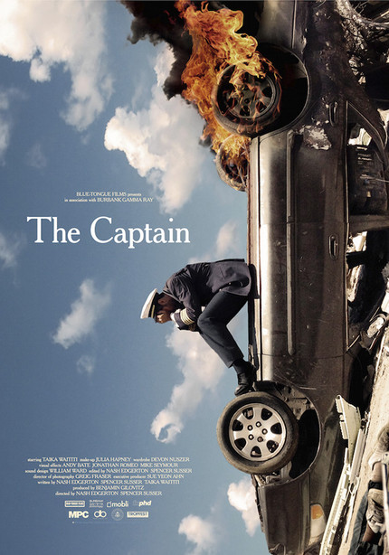 Sundance 2013 Exclusive: Poster for Blue-Tongue Films' THE CAPTAIN Burns with Disorientation