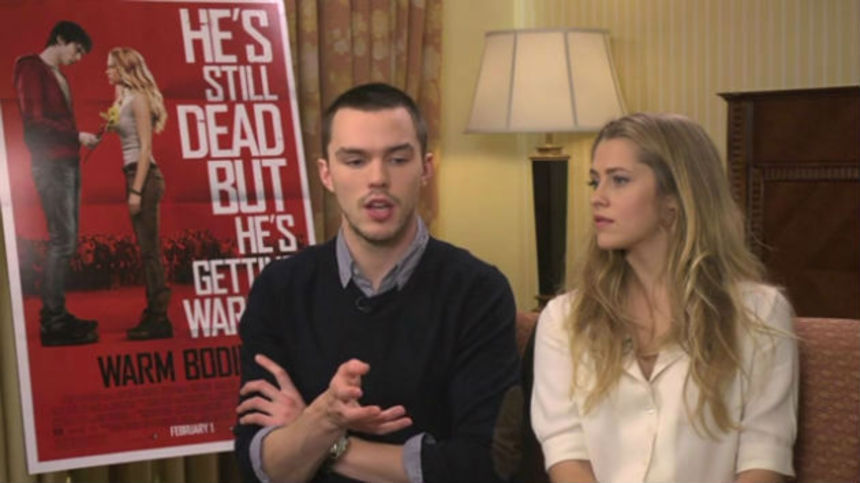 WARM BODIES: Nicholas Hoult and Teresa Palmer Talk Zombies, Respecting Rules, and Then Breaking Them