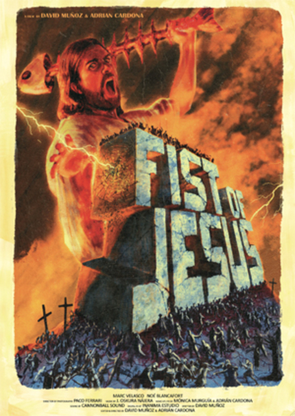 Cult Hit Short FIST OF JESUS Feature Expansion Lands A Producer, Gunning For Production In 2014