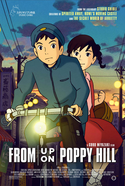 US Trailer For Studio Ghibli's FROM UP ON POPPY HILL
