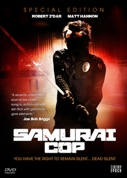Katana Means Japanese Sword! SAMURAI COP Restored And Headed To DVD!