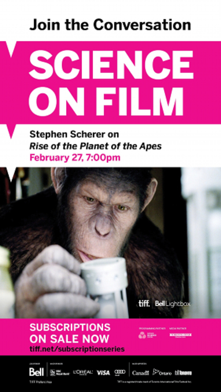 Hey, Toronto! Head To The TIFF Bell Lightbox For RISE OF THE PLANET OF THE APES And Learn About Our Future Overlords!