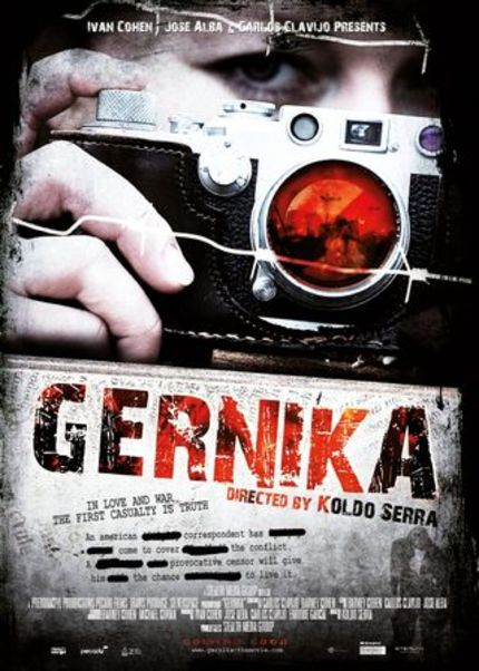 Koldo Serra to Helm Spanish Civil War Film GERNIKA