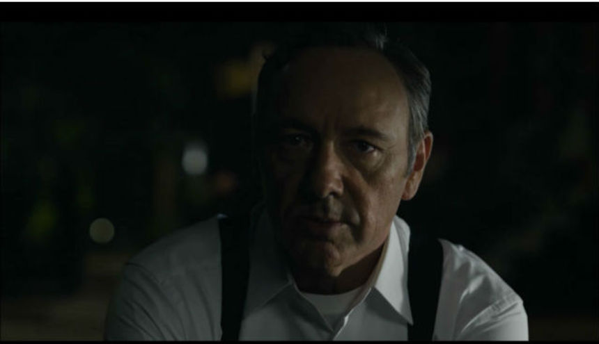 TV Review: HOUSE OF CARDS S1E01, CHAPTER 1 (Or, Kevin Spacey Will Eat You Alive)