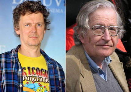 Gondry Animates Chomsky in Trailer for New Doc IS THE MAN WHO IS TALL HAPPY?