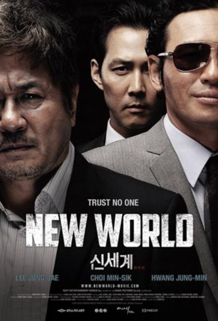 Exclusive English Language Teaser and Poster Debut for NEW WORLD