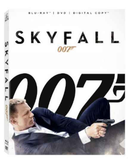 Win SKYFALL On Blu-ray!