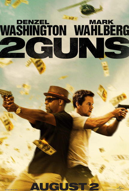 Washington And Wahlberg Spar In First Trailer For 2 GUNS