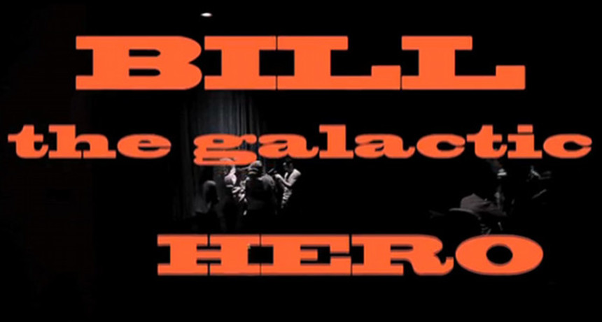 Kickstart This: Alex Cox Directs Harry Harrison's BILL THE GALACTIC HERO