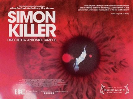 New UK Quad for SIMON KILLER Will Stare You Down!