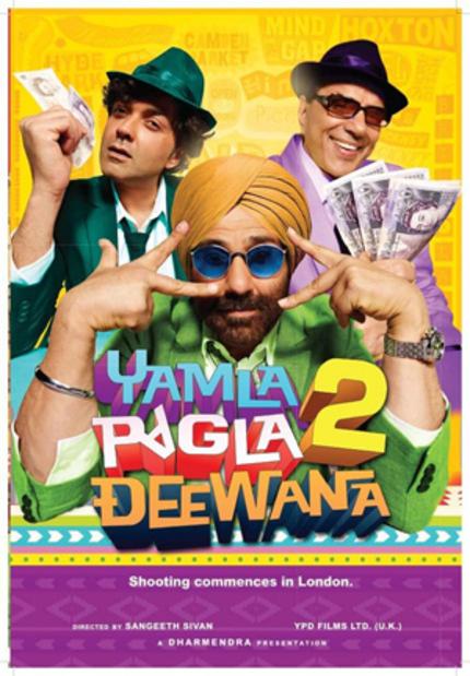 Simians, Sumos, & Sikhs! YAMLA PAGLA DEEWANA 2 Has It All!