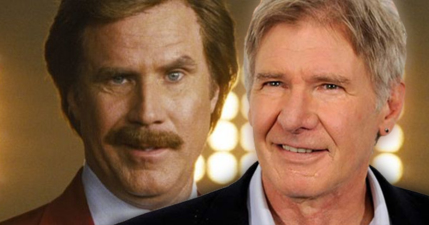 By The Beard Of Zeus! Harrison Ford Joins Cast Of ANCHORMAN 2