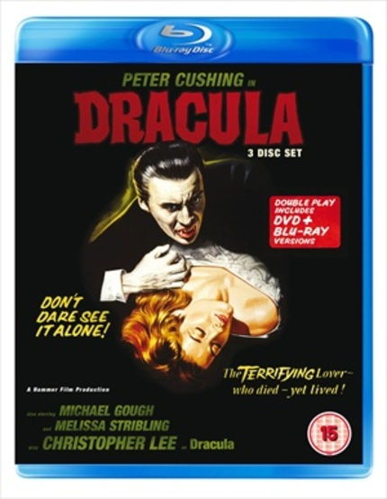 UK Blu-ray Review: DRACULA (1958) Features New Footage And The Version You Need