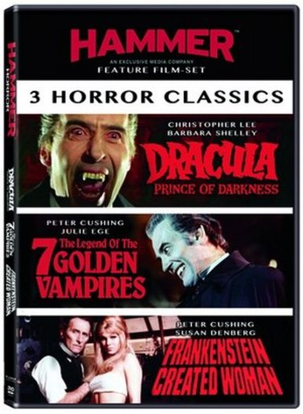 Hammer Horror Hitting US Shores From Millenium Entertainment This Summer