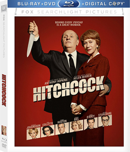 Giveaway: Win a Copy of HITCHCOCK on Blu-ray