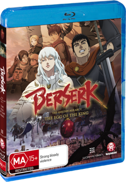 BERSERK: THE EGG OF THE KING Hits Blu-ray And DVD In Australia