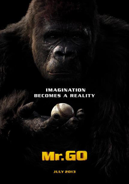 Gorilla Hits a Baseball In MR. GO Teaser