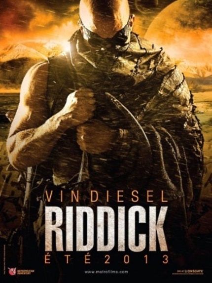 RIDDICK Returns, With A Creature-filled Teaser