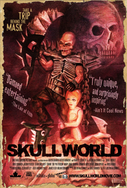 SKULL WORLD Gets Theatrical Tour And Home Video Release!