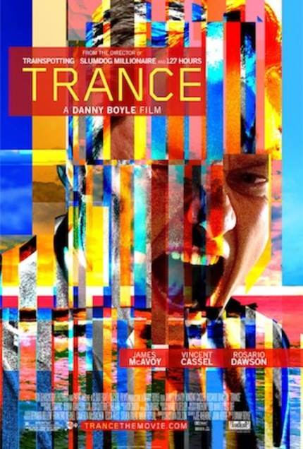 New Trailer For TRANCE Confirms That, Hell Yes, It Is No Doubt A Danny Boyle Film!