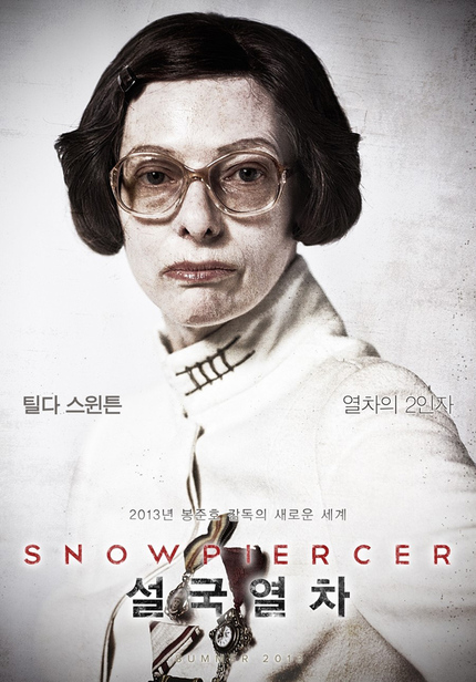 SNOWPIERCER Character Posters Reveal Post-Apocalyptic Malaise