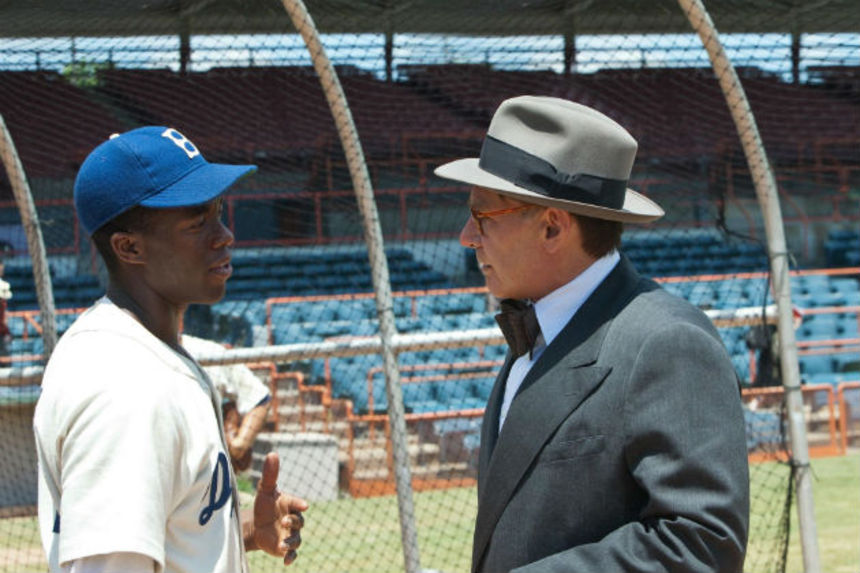 Review: 42 Offers a Nice, Pleasant Version of Jackie Robinson's Story